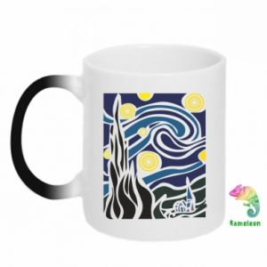 Chameleon mugs Starlight Night - PrintSalon