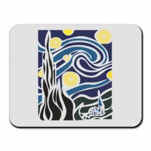 Mouse pad Starlight Night - PrintSalon