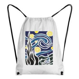 Backpack-bag Starlight Night - PrintSalon