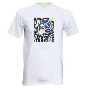Men's sports t-shirt Starlight Night - PrintSalon
