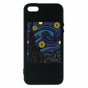 Phone case for iPhone 5/5S/SE Starlight Night - PrintSalon