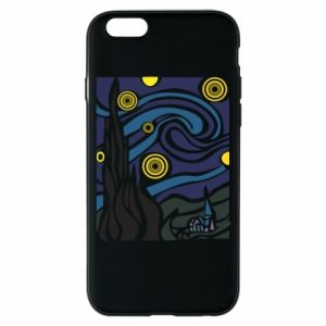 Phone case for iPhone 6/6S Starlight Night - PrintSalon