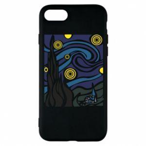 Phone case for iPhone 7 Starlight Night - PrintSalon