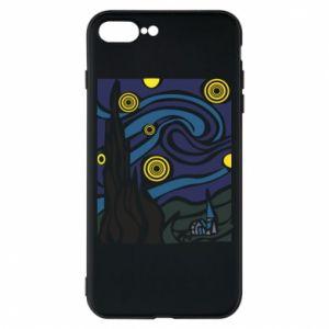 Phone case for iPhone 7 Plus Starlight Night - PrintSalon