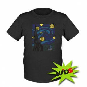 Kids T-shirt Starlight Night - PrintSalon