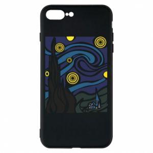 Phone case for iPhone 8 Plus Starlight Night - PrintSalon