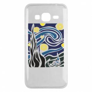 Phone case for Samsung J3 2016 Starlight Night - PrintSalon
