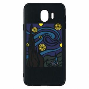 Phone case for Samsung J4 Starlight Night - PrintSalon