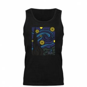 Men's t-shirt Starlight Night - PrintSalon