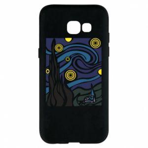 Phone case for Samsung A5 2017 Starlight Night - PrintSalon