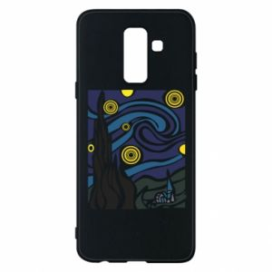 Phone case for Samsung A6+ 2018 Starlight Night - PrintSalon