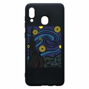 Phone case for Samsung A30 Starlight Night - PrintSalon
