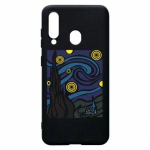 Phone case for Samsung A60 Starlight Night - PrintSalon