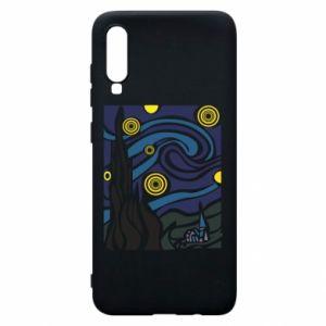 Phone case for Samsung A70 Starlight Night - PrintSalon