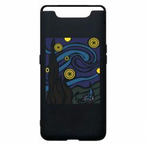 Phone case for Samsung A80 Starlight Night - PrintSalon
