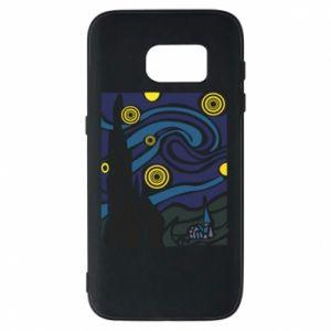 Phone case for Samsung S7 Starlight Night - PrintSalon