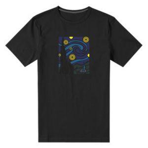Men's premium t-shirt Starlight Night - PrintSalon