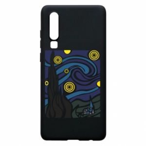 Phone case for Huawei P30 Starlight Night - PrintSalon