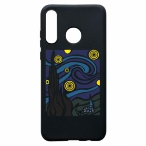 Phone case for Huawei P30 Lite Starlight Night - PrintSalon