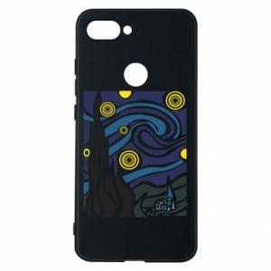 Phone case for Xiaomi Mi8 Lite Starlight Night - PrintSalon