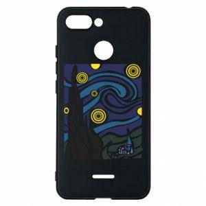 Phone case for Xiaomi Redmi 6 Starlight Night - PrintSalon