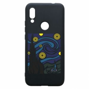 Phone case for Xiaomi Redmi 7 Starlight Night - PrintSalon