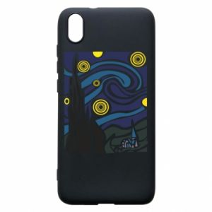 Phone case for Xiaomi Redmi 7A Starlight Night - PrintSalon