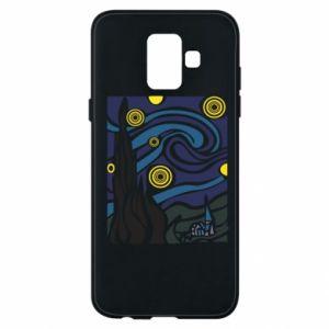 Phone case for Samsung A6 2018 Starlight Night - PrintSalon