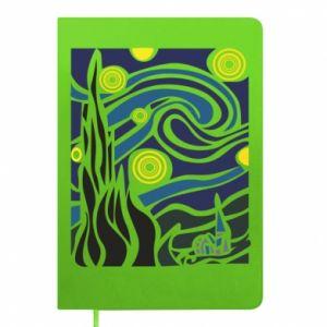 Notepad Starlight Night - PrintSalon