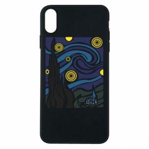 Phone case for iPhone Xs Max Starlight Night - PrintSalon