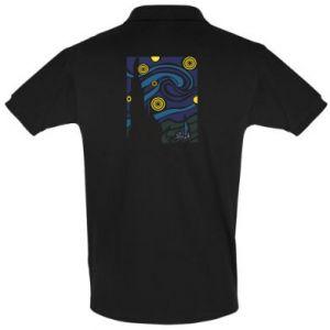 Men's Polo shirt Starlight Night - PrintSalon