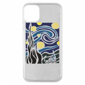 Phone case for iPhone 11 Pro Starlight Night - PrintSalon