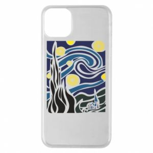Phone case for iPhone 11 Pro Max Starlight Night - PrintSalon