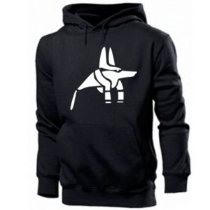 Men's hoodie Ancient Egyptian god Anubis