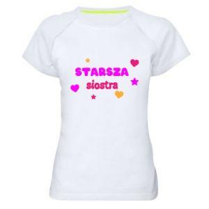 Damska koszulka sportowa Starsza siostra