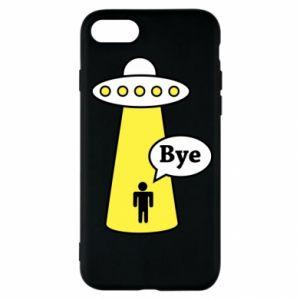 Etui na iPhone SE 2020 Statek kosmiczny i człowiek