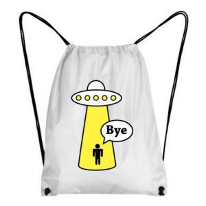 Plecak-worek Statek kosmiczny i człowiek
