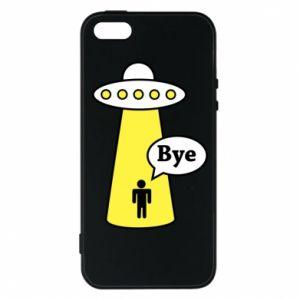 Etui na iPhone 5/5S/SE Statek kosmiczny i człowiek