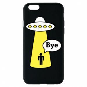 Etui na iPhone 6/6S Statek kosmiczny i człowiek