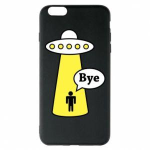 Etui na iPhone 6 Plus/6S Plus Statek kosmiczny i człowiek
