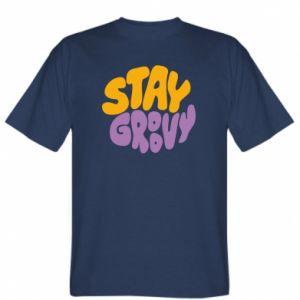 Koszulka męska Stay groovy