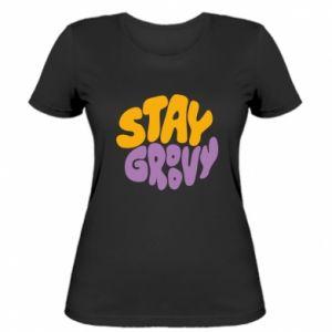 Koszulka damska Stay groovy