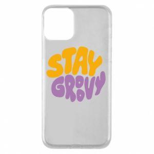 Etui na iPhone 11 Stay groovy