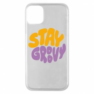 Etui na iPhone 11 Pro Stay groovy