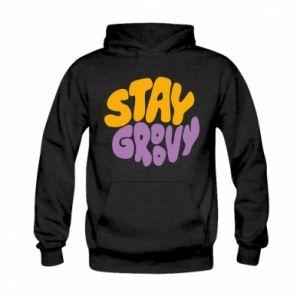 Bluza z kapturem dziecięca Stay groovy