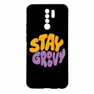 Etui na Xiaomi Redmi 9 Stay groovy