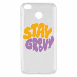Etui na Xiaomi Redmi 4X Stay groovy
