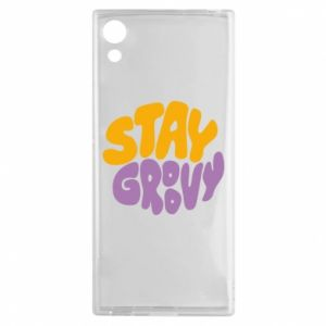 Etui na Sony Xperia XA1 Stay groovy