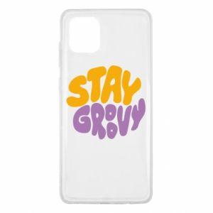 Etui na Samsung Note 10 Lite Stay groovy