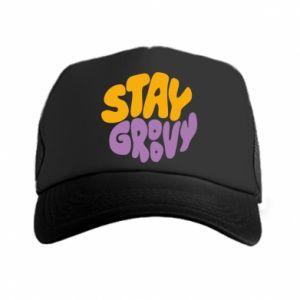 Czapka trucker Stay groovy